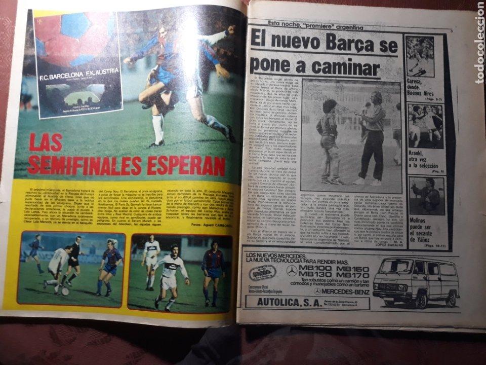 Coleccionismo deportivo: DIARIO DICEN N° 5705. 12 DE MARZO DE 1983 . MENOTTI- MARADONA . HOY NACE UN NUEVO BARCA - Foto 4 - 227094950