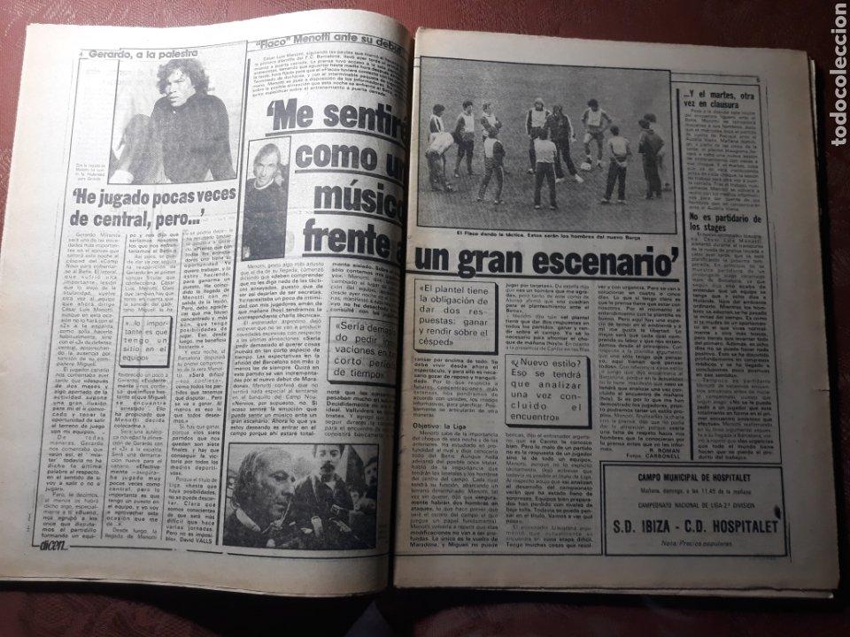 Coleccionismo deportivo: DIARIO DICEN N° 5705. 12 DE MARZO DE 1983 . MENOTTI- MARADONA . HOY NACE UN NUEVO BARCA - Foto 5 - 227094950