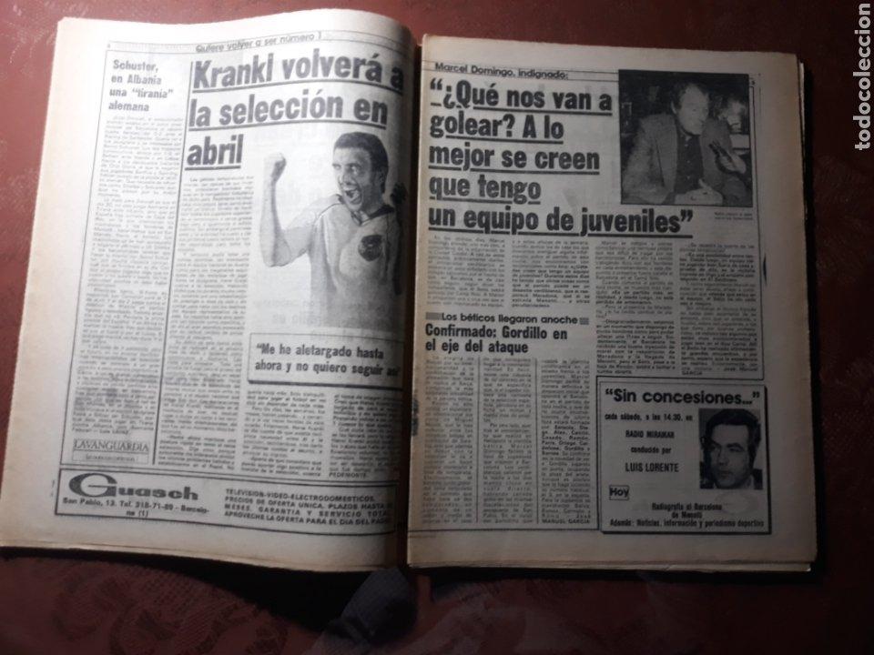 Coleccionismo deportivo: DIARIO DICEN N° 5705. 12 DE MARZO DE 1983 . MENOTTI- MARADONA . HOY NACE UN NUEVO BARCA - Foto 7 - 227094950