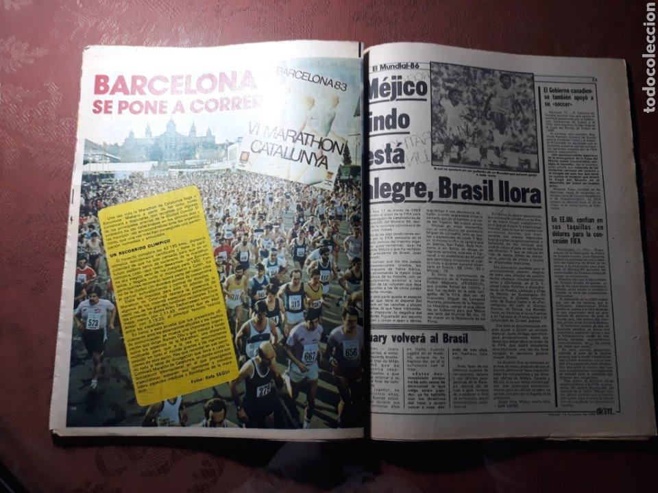 Coleccionismo deportivo: DIARIO DICEN N° 5705. 12 DE MARZO DE 1983 . MENOTTI- MARADONA . HOY NACE UN NUEVO BARCA - Foto 9 - 227094950