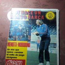 Coleccionismo deportivo: DIARIO DICEN N° 5705. 12 DE MARZO DE 1983 . MENOTTI- MARADONA . HOY NACE UN NUEVO BARCA. Lote 227094950