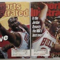 Coleccionismo deportivo: MICHAEL JORDAN - REVISTAS ''SPORTS ILLUSTRATED'' (1997) - QUINTO ANILLO - NBA. Lote 45840960