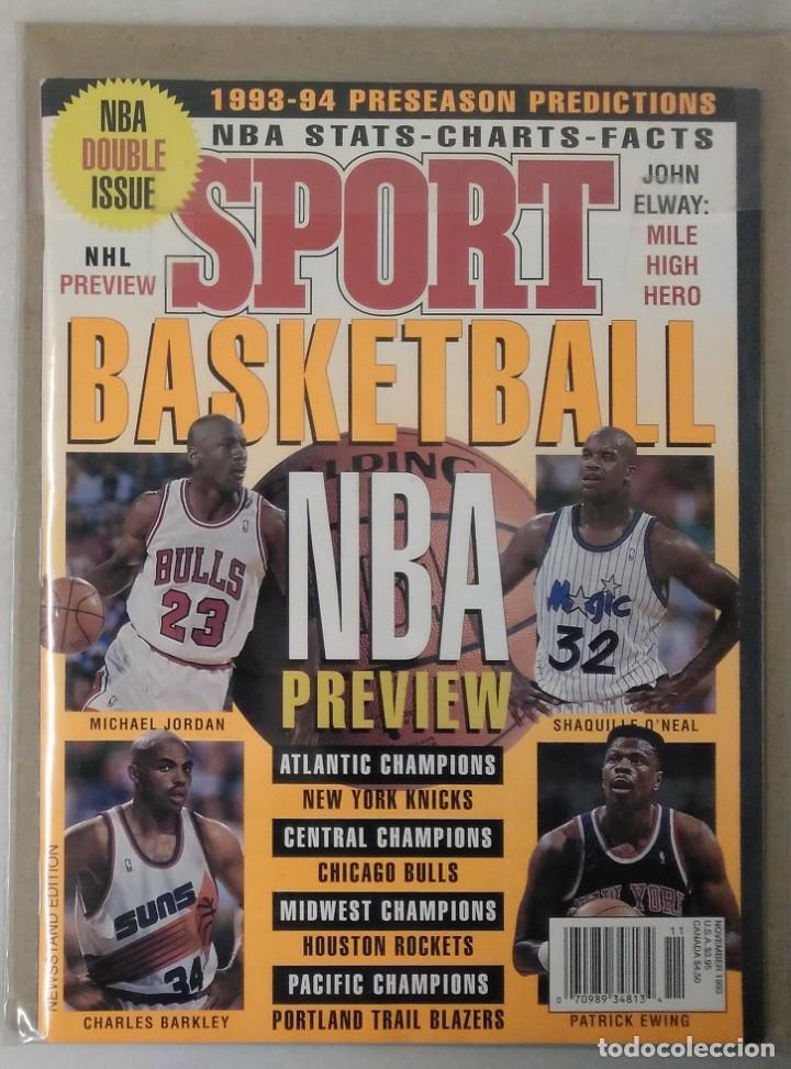Coleccionismo deportivo: Michael Jordan - Lote de 14 revistas americanas Sports Illustrated, etc. (1989-98) + Especial - Foto 3 - 94283445