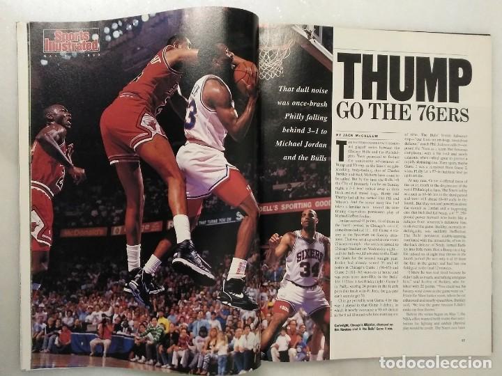 Coleccionismo deportivo: Michael Jordan - Lote de 14 revistas americanas Sports Illustrated, etc. (1989-98) + Especial - Foto 4 - 94283445
