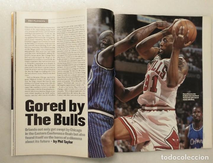 Coleccionismo deportivo: Michael Jordan - Lote de 14 revistas americanas Sports Illustrated, etc. (1989-98) + Especial - Foto 6 - 94283445