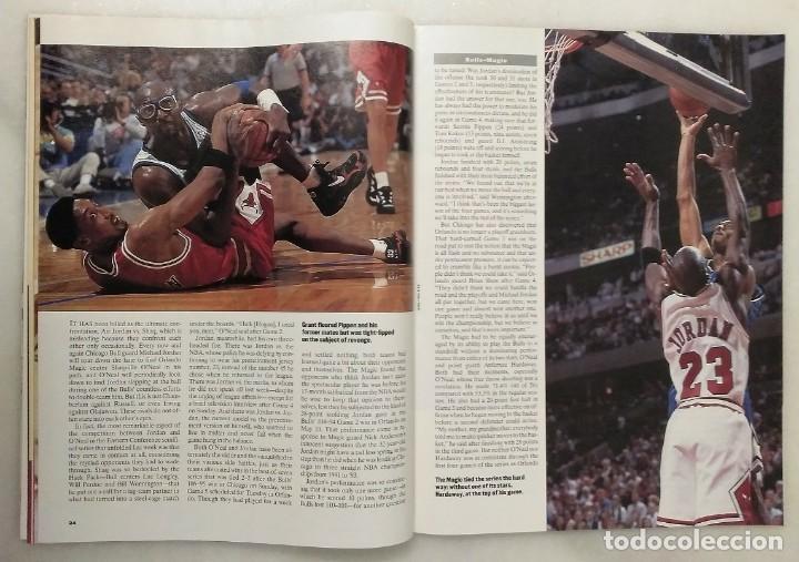 Coleccionismo deportivo: Michael Jordan - Lote de 14 revistas americanas Sports Illustrated, etc. (1989-98) + Especial - Foto 9 - 94283445