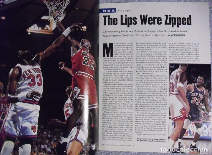 Coleccionismo deportivo: Michael Jordan - Lote de 14 revistas americanas Sports Illustrated, etc. (1989-98) + Especial - Foto 11 - 94283445