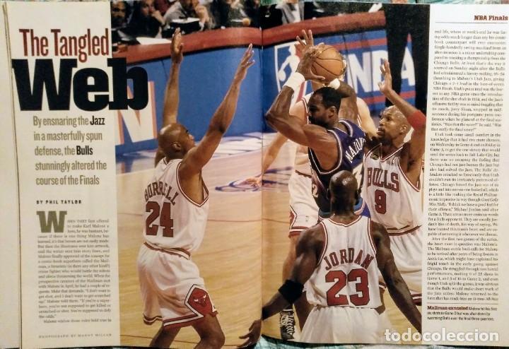 Coleccionismo deportivo: Michael Jordan - Lote de 14 revistas americanas Sports Illustrated, etc. (1989-98) + Especial - Foto 12 - 94283445