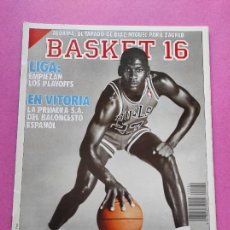 Coleccionismo deportivo: REVISTA ESTRELLAS DEL BASKET 16 Nº 82 1989 ESPECIAL ENTREVISTA MICHAEL JORDAN NBA BULLS. Lote 246214695