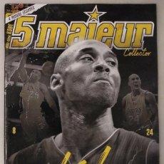 Coleccionismo deportivo: REVISTA ''5 MAJEUR'' - ESPECIAL KOBE BRYANT - NBA. Lote 229926595