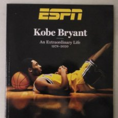 Coleccionismo deportivo: REVISTA/LIBRO ''KOBE BRYANT. AN EXTRAORDINARY LIFE. 1978-2020'' - ESPECIAL DE ESPN - NBA. Lote 229926605