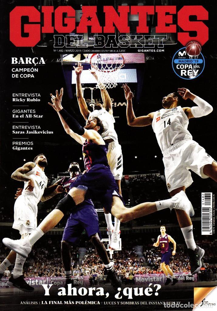 REVISTA GIGANTES DEL BASKET NUMERO 1482 BARÇA CAMPEÓN DE COPA (Coleccionismo Deportivo - Revistas y Periódicos - otros Deportes)