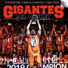 Coleccionismo deportivo: REVISTA GIGANTES DEL BASKET NUMERO 1484 VALENCIA BASKET CAMPEÓN DE EUROCUP. Lote 230932265