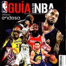 Coleccionismo deportivo: REVISTA GIGANTES DEL BASKET NUMERO 1489 GUÍA NBA 2019-20. Lote 230933340