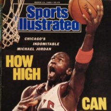 Coleccionismo deportivo: MICHAEL JORDAN & CHICAGO BULLS - REVISTA ''SPORTS ILLUSTRATED'' (MARZO 1989) - NBA. Lote 231091155
