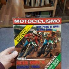 Collectionnisme sportif: REVISTA MOTOCICLISMO NÚMERO 557 DEL AÑO 1978 CON PÓSTER CENTRAL GRAN PREMIO DE ESPAÑA MOTOCROSS. Lote 231453470