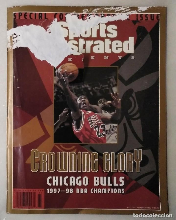 Coleccionismo deportivo: Michael Jordan - Lote de 14 revistas americanas Sports Illustrated, etc. (1989-98) + Especial - Foto 13 - 94283445