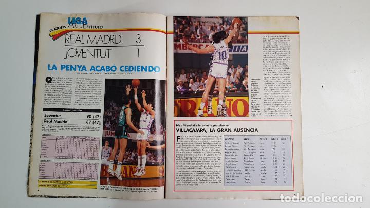 Coleccionismo deportivo: REVISTA GIGANTES DEL BASKET Nº 185 1989 MICHAEL JORDAN DINAMITA LOS PLAYOFFS - Foto 2 - 232045310