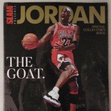 Colecionismo desportivo: MICHAEL JORDAN - ESPECIAL DE LA REVISTA ''SLAM'' - NBA. Lote 247449425