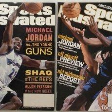 Coleccionismo deportivo: MICHAEL JORDAN (WIZARDS) - DOS REVISTAS ''SPORTS ILLUSTRATED'' (2001-2002) - NBA. Lote 50648558