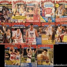 Coleccionismo deportivo: ARVYDAS SABONIS - 23 REVISTAS DE BALONCESTO ''GIGANTES DEL BASKET'' (1989-1995). Lote 215493681