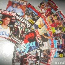 Coleccionismo deportivo: LOTE 13 REVISTA GIGANTES DEL BASKET, BALONCESTO. VER FOTOS Y LISTADO. Lote 235337580
