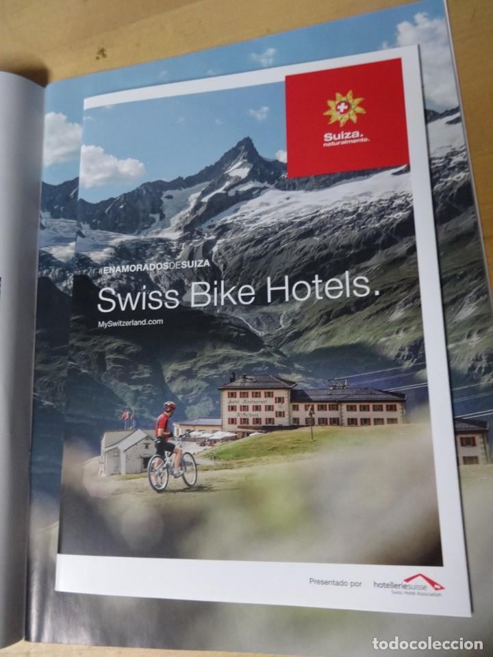 Coleccionismo deportivo: Coleccionable Suiza en bici, con rutas y guías de hoteles - Foto 2 - 235673665