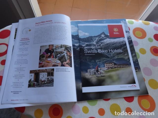 Coleccionismo deportivo: Coleccionable Suiza en bici, con rutas y guías de hoteles - Foto 3 - 235673665