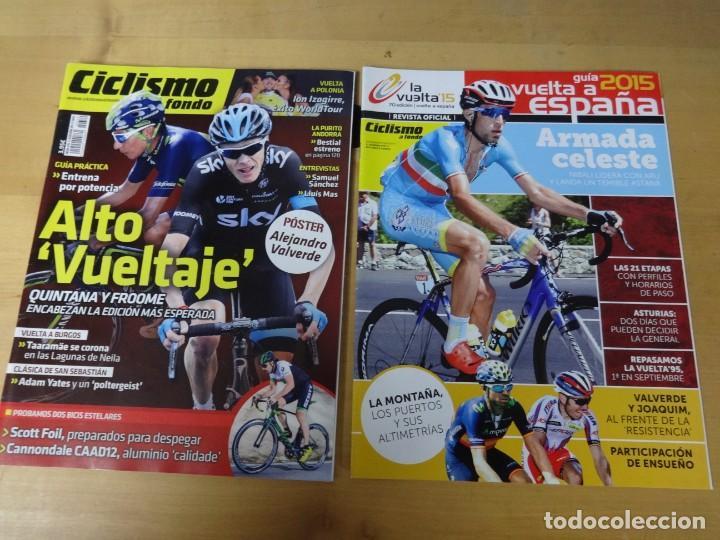 CICLISMO A FONDO 370 + SUPLEMENTO, QUINTANA Y FROOME, VUELTA A BURGOS, CLÁSICA SAN SEBASTIÁN5 (Coleccionismo Deportivo - Revistas y Periódicos - otros Deportes)