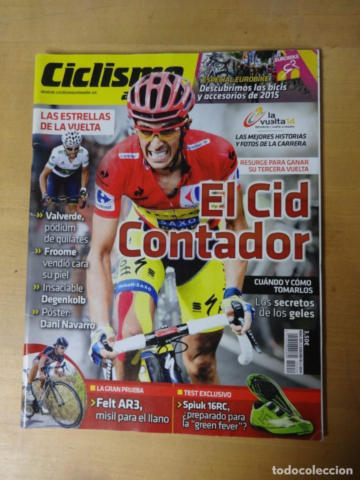 CICLISMO A FONDO 359, EL CID CONTADOR, PRUEBA DE FELT A3R, SPIUK 16RC, SECRETO DE LOS GELES (Coleccionismo Deportivo - Revistas y Periódicos - otros Deportes)