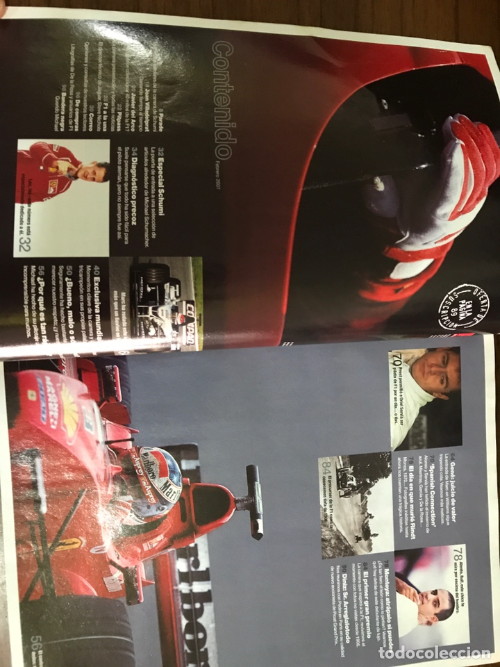 Coleccionismo deportivo: Revista F1 Racing en español número 24 - Foto 3 - 235680475