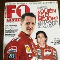 Collectionnisme sportif: REVISTA F1 RACING EN ESPAÑOL NÚMERO 36. Lote 236440960