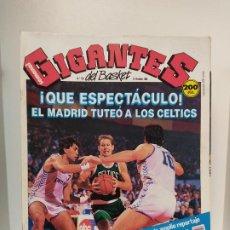 Coleccionismo deportivo: REVISTA GIGANTES DEL BASKET NUMERO 156 1988 OPEN MCDONALDS BOSTON CELTICS. Lote 236660180