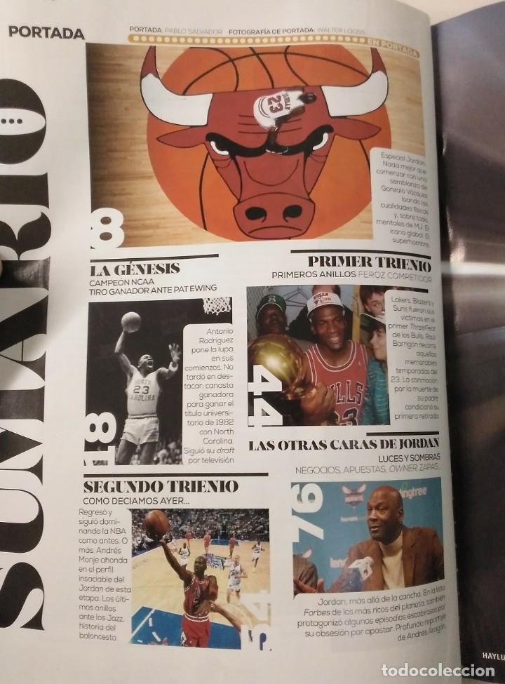 Coleccionismo deportivo: Colección de 115 de las 131 primeras revistas Gigantes del Basket (1985-88) + Especial Jordan - Foto 28 - 162988738