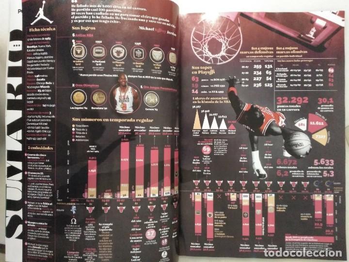 Coleccionismo deportivo: Colección de 115 de las 131 primeras revistas Gigantes del Basket (1985-88) + Especial Jordan - Foto 29 - 162988738