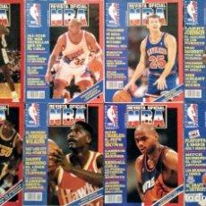 Coleccionismo deportivo: LOTE DE 14 NÚMEROS DE LA ''REVISTA OFICIAL NBA'' (1992-95) - JORDAN, BARKLEY.... Lote 236670700