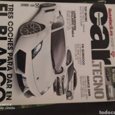 Coleccionismo deportivo: REVISTA DE COCHES CAR &TECNO AUTOFACIL. Lote 236708225