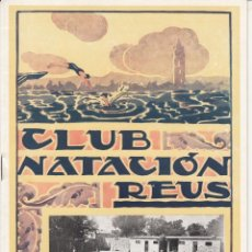 Collectionnisme sportif: REVISTA CLUB NATACIÓN REUS PLOMS NUM. 8 1945. Lote 236748075