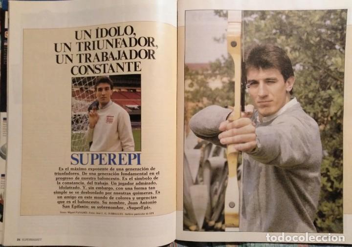 Coleccionismo deportivo: Revistas Superbasket - 12 primeros números (1986-1987) - Foto 3 - 191232552