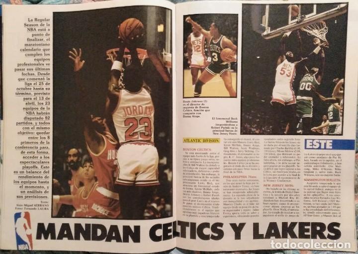 Coleccionismo deportivo: Revistas Superbasket - 12 primeros números (1986-1987) - Foto 4 - 191232552