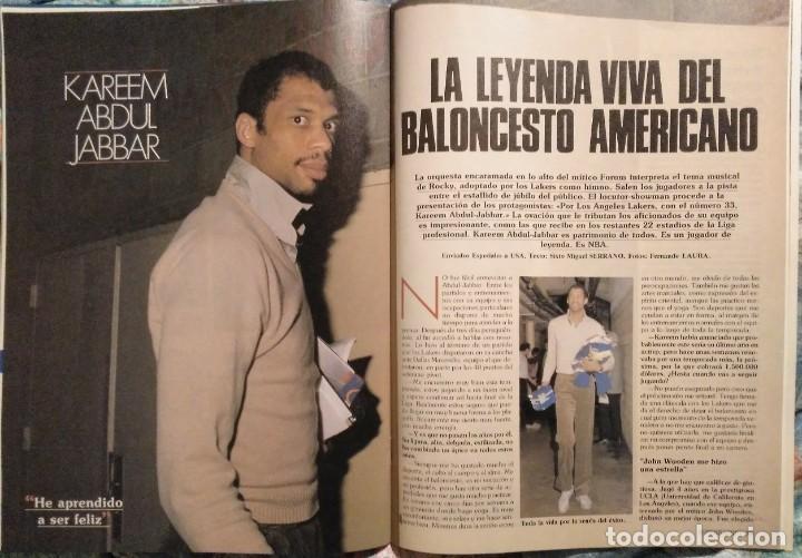 Coleccionismo deportivo: Revistas Superbasket - 12 primeros números (1986-1987) - Foto 5 - 191232552