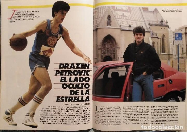Coleccionismo deportivo: Revistas Superbasket - 12 primeros números (1986-1987) - Foto 6 - 191232552