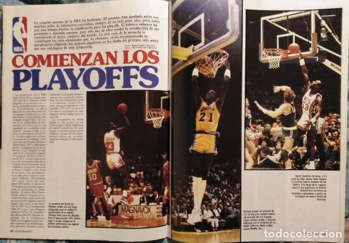 Coleccionismo deportivo: Revistas Superbasket - 12 primeros números (1986-1987) - Foto 7 - 191232552