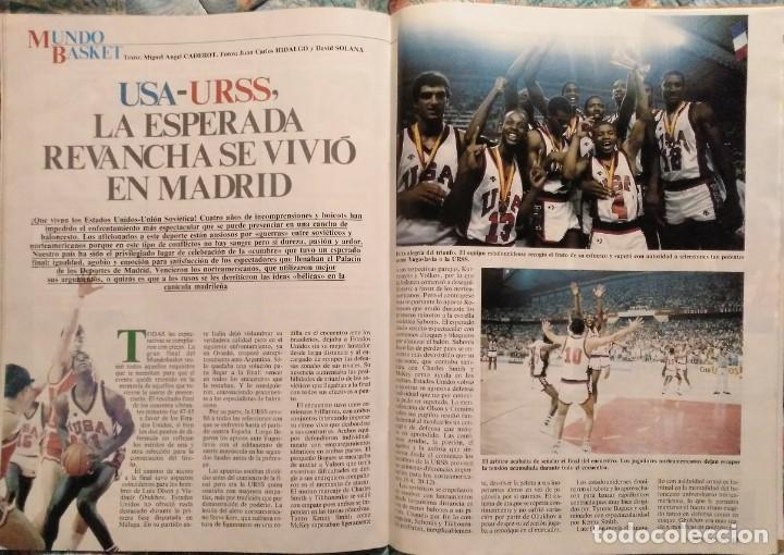 Coleccionismo deportivo: Revistas Superbasket - 12 primeros números (1986-1987) - Foto 8 - 191232552