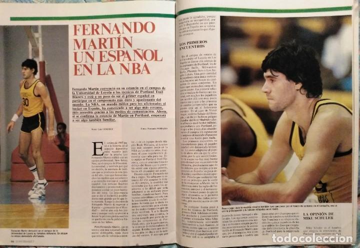 Coleccionismo deportivo: Revistas Superbasket - 12 primeros números (1986-1987) - Foto 9 - 191232552