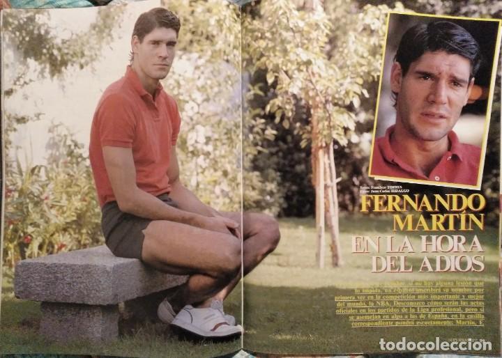 Coleccionismo deportivo: Revistas Superbasket - 12 primeros números (1986-1987) - Foto 10 - 191232552