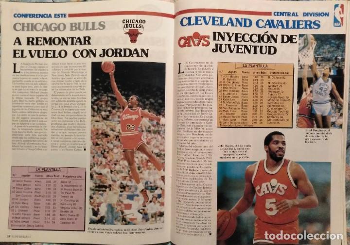 Coleccionismo deportivo: Revistas Superbasket - 12 primeros números (1986-1987) - Foto 11 - 191232552