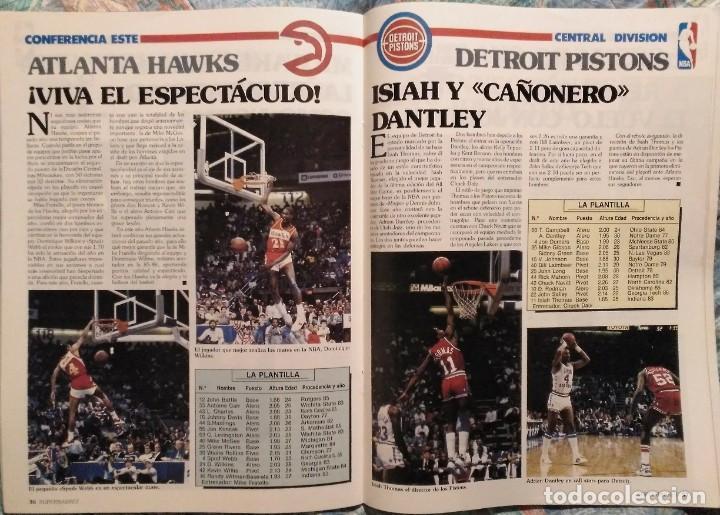 Coleccionismo deportivo: Revistas Superbasket - 12 primeros números (1986-1987) - Foto 12 - 191232552