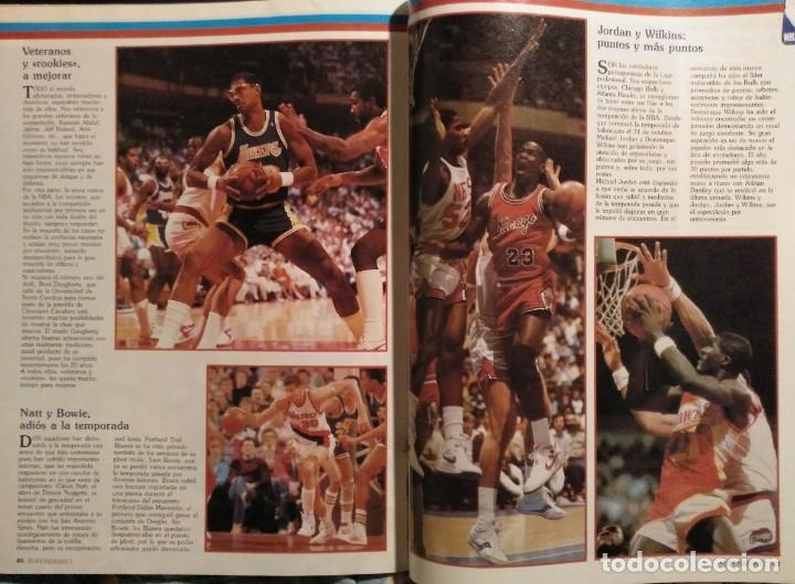 Coleccionismo deportivo: Revistas Superbasket - 12 primeros números (1986-1987) - Foto 13 - 191232552