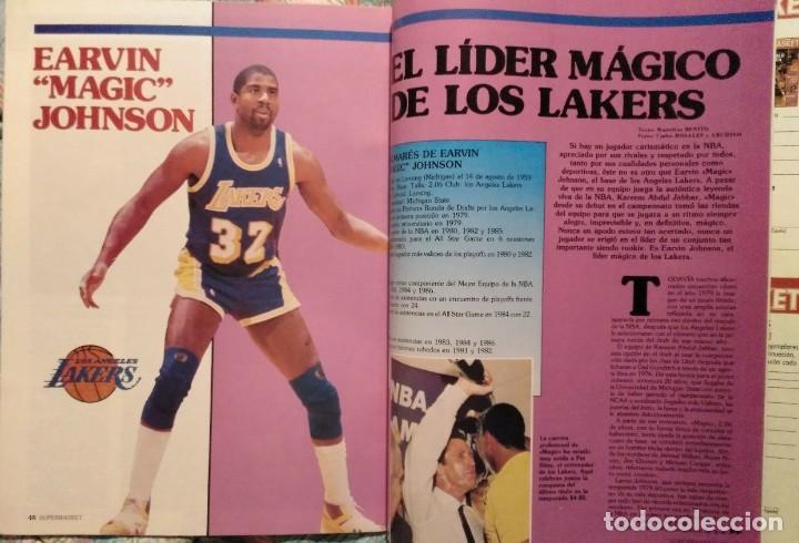 Coleccionismo deportivo: Revistas Superbasket - 12 primeros números (1986-1987) - Foto 14 - 191232552
